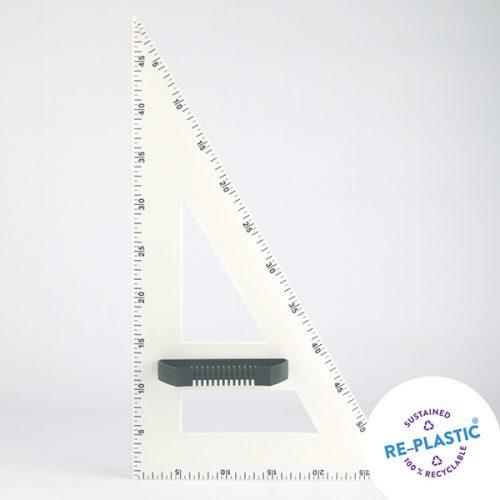 Trokut za školsku ploču 60° PVC 50cm