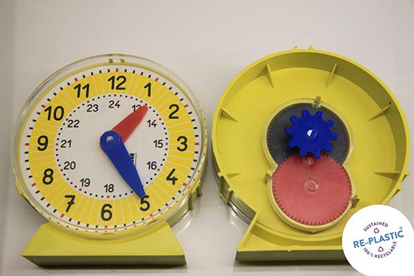 Sat za učenje vremena ø 10 cm, PVC
