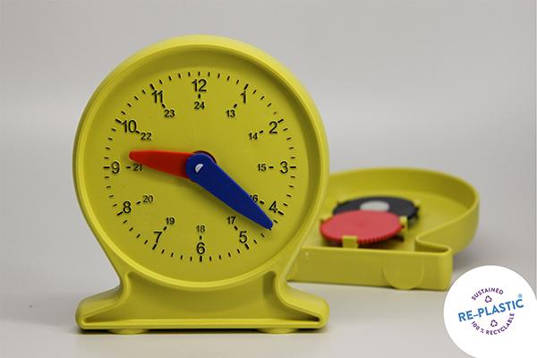 Sat za učenje vremena učenički, PVC