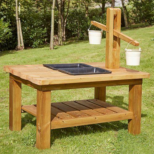 EY10291 Drveni stol za polužnu vagu