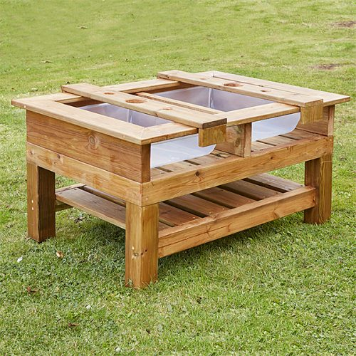 EY10292 Drveni stol za miješanje, raspoređivanje i ispiranje