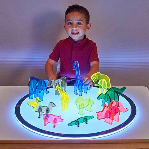 EY10987 3D akrilni likovi za svjetlosnu ploču