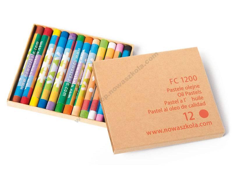 FC1200 Uljne pastele 12 boja