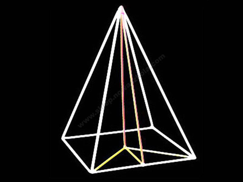 HG0032 Kockasta piramida