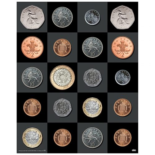IT00854 Bee-Bot - Prostirka novčići