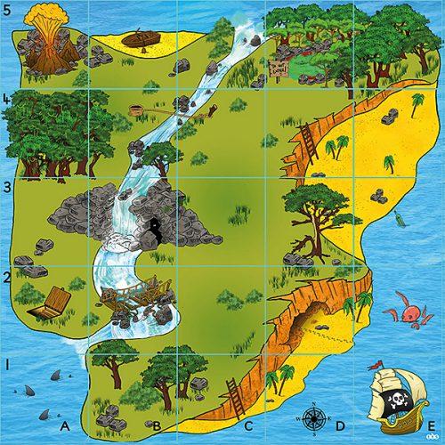 ITSMAT1 Bee-Bot - Prostirka otok blaga