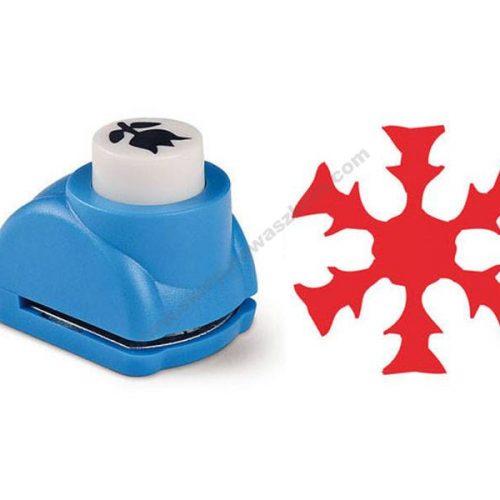 KE1833 Igračke za udaranje oznaka ø 1,8 cm snježna pahulja