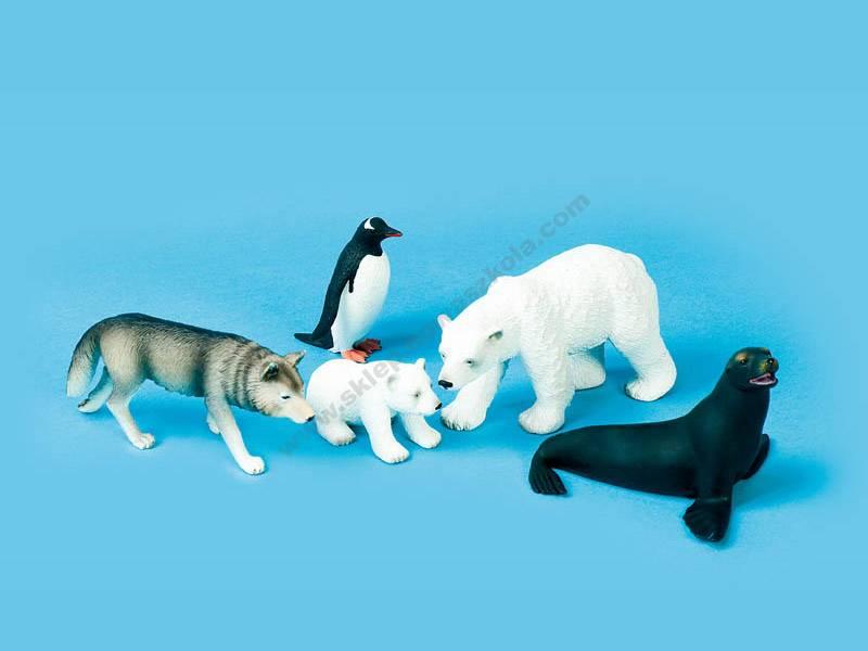 MJ0004 3D plastični likovi polarnih životinja