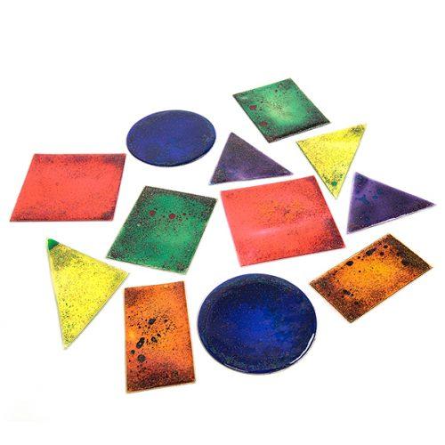 MSSH Šareni matematički likovi izrađeni od gela