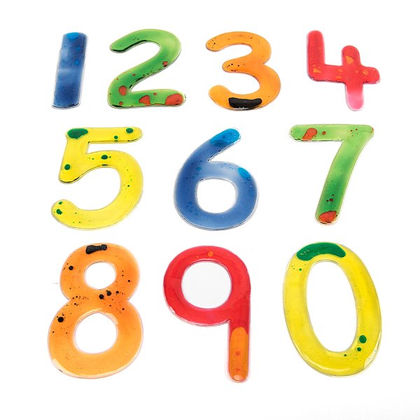 MSSN Brojevi izrađeni od gela