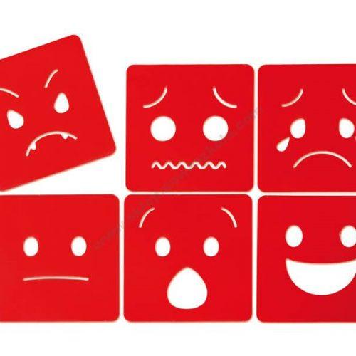 NS0914 Šablone oblika emocija