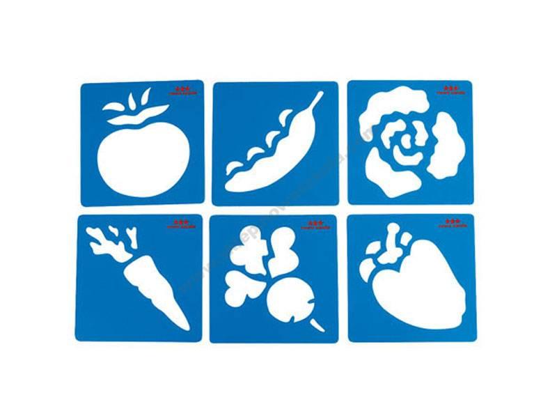 NS0922 Šablone oblika povrća