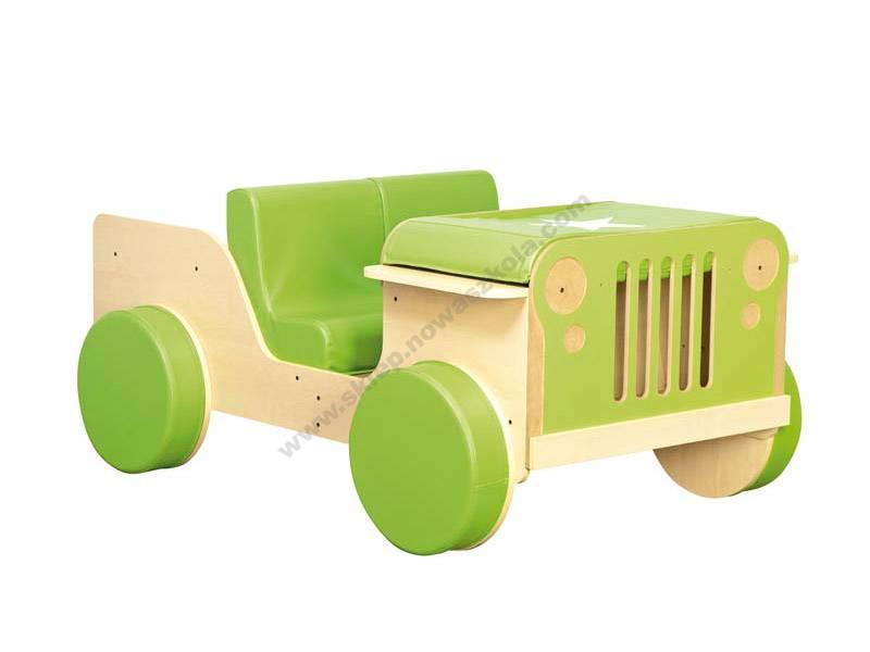 NS1838 Igračka drvenog auta vojske za terensku vožnju