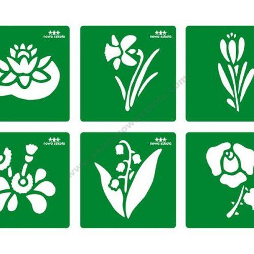 NS3020 Šablone oblika cvijeća