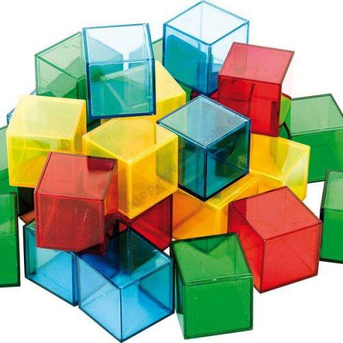 NS4062 Poluprozirne kocke u šarenim bojama