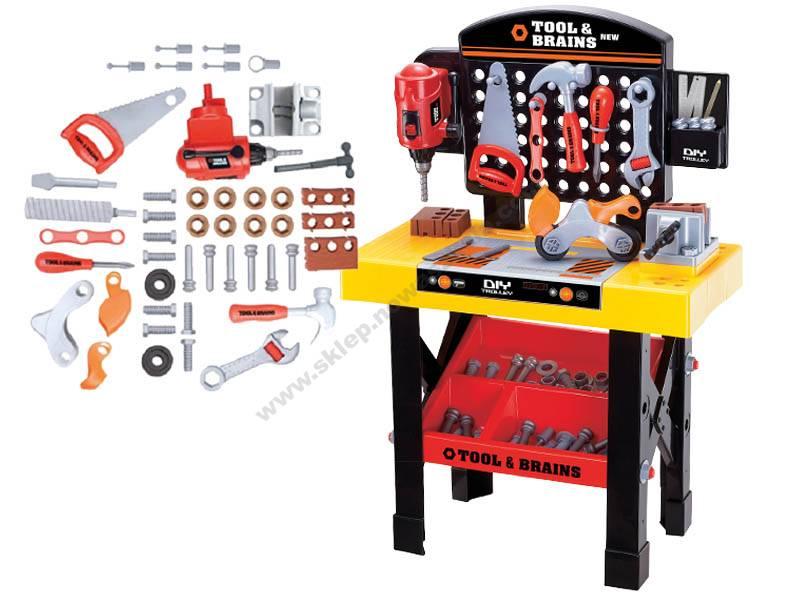 TU0040 Plastična igračka paketa alata na radnom stolu