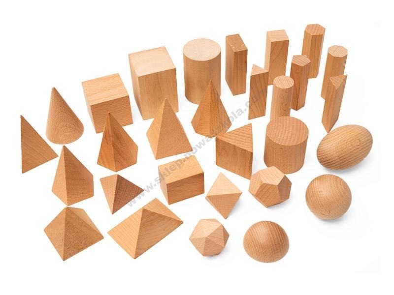 TY0029 Geometrijski čvrsti blokovi - komplet za učionicu