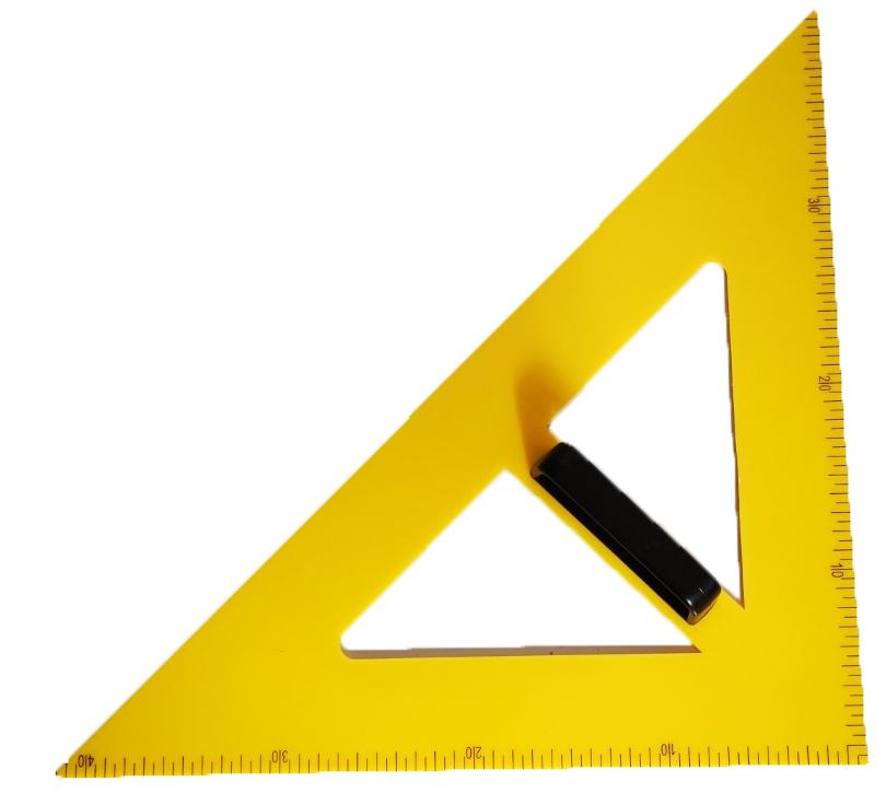 trokut za ploču 45 PVC